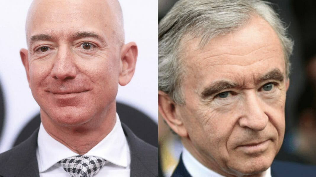 Bernard Arnold is the richest man in the world who is relacing Jeff Bezos